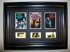 NIGHT LIVING DEAD Framed Trio Movie Film Cell Memorabilia - Compliments poster