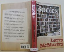 LARRY MCMURTRY Books: A Memoir SIGNED FIRST EDITION