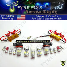 LED Interior & Exterior Conversion Upgrade package for 2015 & Up Mustang