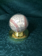 Rare Dusty Rhodes Manager Signed Team Ball Helena Brewers 1988 Pioneer League