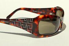 Vintage VERSACE 4068B Sonnenbrille mit Strass - Rhinestone Sunglasses MINT