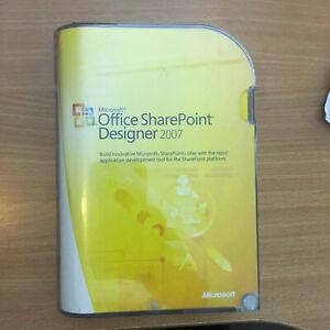 Microsoft Office SharePoint Designer 2007 Retail Edition