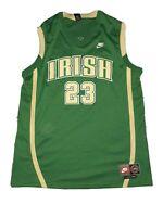 St Vincent St Mary SVSM Irish LeBron James Nike High School Basketball Jersey XL