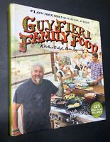 Guy Fieri Family Food Signed 2016 1st Ed Hardback Book Diners Drive-ins Dives