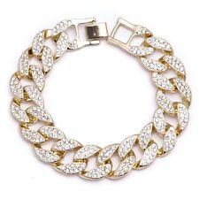 Herren Armbänder in goldener Farbe
