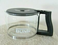 Bunn Coffee Maker 10 Cup Black Carafe Replacement Decanter Pot Glass With Lid