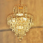 Modern Glass Crystal Chandelier Ceiling Light Pendant Lighting Lamp Fixtures