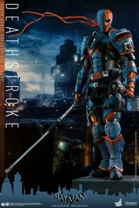 Masterpiece Batman Arkham Origins Deathstroke 1/6 Hot Toys Japan New