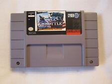 Full Throttle: All-American Racing (Nintendo SNES) Exc!