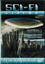 """""""Sci-Fi Cinema  VOL.1 - ASSIGNMENT OUTER SPACE & DESTROY ALL PLANETS, Slim Case"""