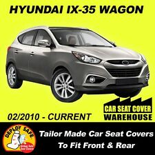 Car Seat Covers To Fit HYUNDAI IX35 ix35 Front & Rear 2010-Current Airbag Safe!