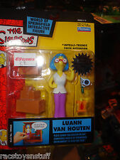 LUAN VAN HOUTEN FROM THE SIMPSONS WORLD OF SPRINGFIELD, MOC FREE U.S. SHIPPING
