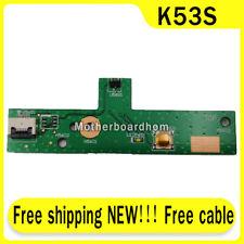 Cavo libero NUOVO PER Asus K53Sv K53E K53SD K53SJ POWER BUTTON BOARD CON CAVO