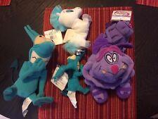 Hercules Disney Plush Beanies - Set of 5 W/Tages