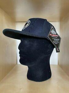 Black Baseball Cap - Flexfit by Yupoong - Free P&P - One Size Flexfit