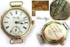 Antique GOLD 583 14K WristWatch PAVEL BURE Paul Buhre Russian Empire 1907-1908