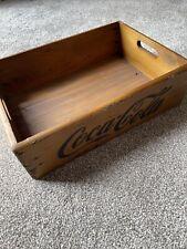 Coca Cola Wooden Crate Box Vintage Style Storage Kitchen Retro