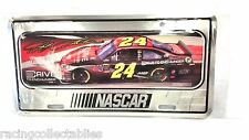JEFF GORDON #24 DRIVE TO END HUNGER AARP METAL LICENSE PLATE NEW FREE SHIP