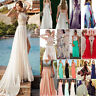 New Chiffon Lace Evening Formal Cocktail Party Ball Gown Prom Bridesmaid Dress G