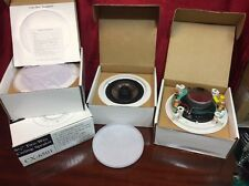 """New listing Htx Cx-6501 6 1/2"""" Pp 2-Way White Ceiling Speakers. Set of 4."""