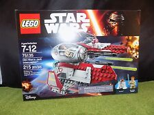 LEGO STAR WARS 75135 OBI-WAN'S JEDI INTERCEPTOR New in Box sealed (R 96)