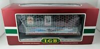 LGB Lehmann - G Scale - Christmas Barrel Beer Keg Trail Rail Car - #31420