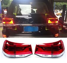 LED Rear Tail Light Brake Lamp Assembly Fit for Toyota Land Cruiser LC200 16-18