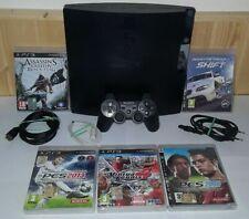 _( Console Sony Ps3 PlayStation 3 500GB + Dualshock Giochi No Xbox Switch ps4 )_