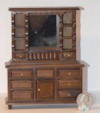 Dollhouse Miniature Walnut Dresser Mirror B 1:12 inch scale E36 Dollys Gallery