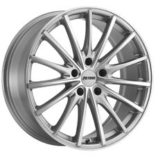 New Listing4 Petrol P3a 17x8 5x108 40mm Silvermachined Wheels Rims Fits More Than One Vehicle