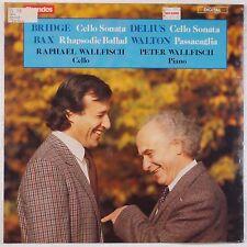 BRIDGE, DELIUS: Cello Sontas WALLFISCH piano CHANDOS Digital SEALED LP