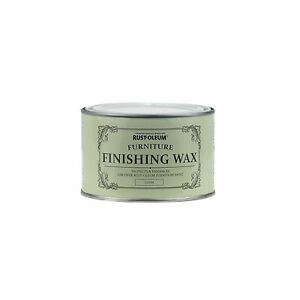 Sale Rust-Oleum Furniture Clear Finishing Wax Chalky Vintage Shabby Chic 125ml