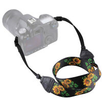 Ethnic Style Neck Shoulder Straps for Canon Nikon Sony DSLR Cameras Straps S