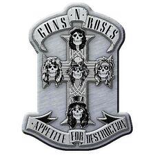 GUNS N ROSES metal pin badge APPETITE
