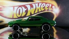 HOT WHEELS 1967 Chevrolet Camaro Metallic Green with Stripes Loose