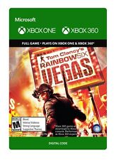 Tom Clancy's Rainbow Six: Vegas Game Download DLC Xbox One or Xbox 360 - No Disc