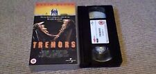 TREMORS 4FRONT UNIVERSAL UK PAL VHS VIDEO 1999 Kevin Bacon Fred Ward Horror