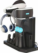 Virtual Reality Headset PS4 Controller Holder Charging Station VR Storage Gift