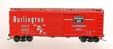 CB&Q BURLINGTON 40' BOX CAR-HO SCALE
