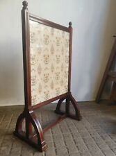 Stunning Quality Walnut Arts And Crafts Gothic Revivalist Firescreen