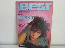 Magazine BEST 218 Sept 1986 INDOCHINE AUBERT DYLAN BEACH BOYS