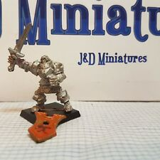 Warhammer Fantasy Battle Realm of Chaos Chaos Warriors Sword 10 Metal OOP