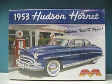 2011 discontinued moebius #1200 1/25 1953 Hudson Hornet model kit new in the box