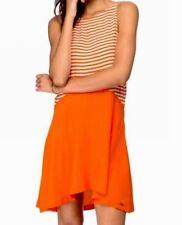 Ladies RUSTY Vermillon Steller Striped Dress. Size 8-10. NWT $69.99