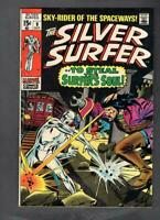 Silver Surfer #9, FN+ 6.5, Mephisto and Ghost