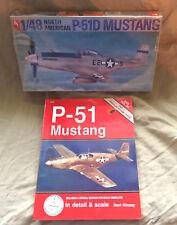 MUSTANG BUNDLE 1/48 Hobby Craft P-51D Mustang / P-51 Mustang In Detail & Scale