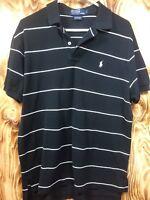 Polo Ralph Lauren Men's Black White Striped Size L