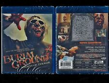Burial Ground: Night of Terrors (Brand New Blu-ray Disc) Rare, Out Of Print