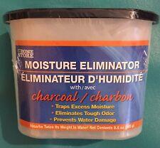 Charcoal Moisture Eliminator Absorbant  Black Trim Self Contain Unit Traps Odors