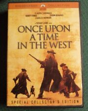 New listing Once Upon A Time In The West 2xDvd widescreen Sergio Leone Charles Bronson